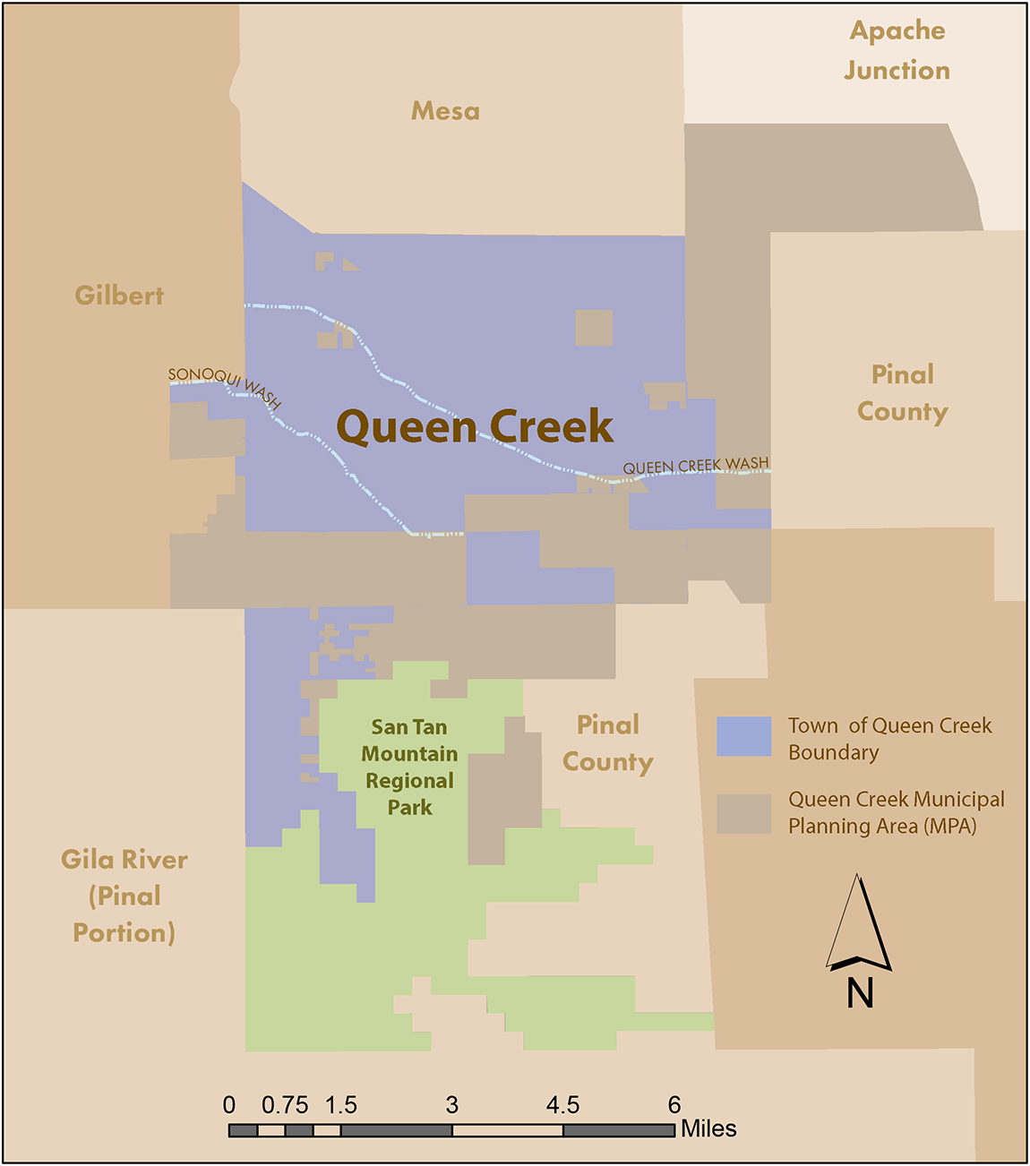 Map Of Arizona Showing Queen Creek.Map Of Arizona Showing Queen Creek